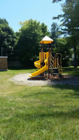 Easily accessible Burtchville Township Park play place