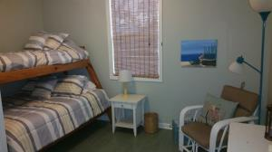 Bunk room with twin and full beds